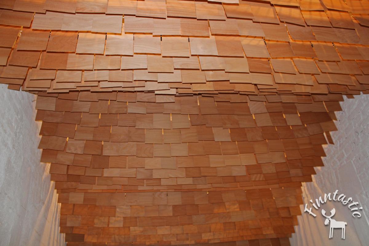 Architekturprojekt zur Architektur Biennale: Die innovative Holzvertäfelung im FIN-GER Concept Store