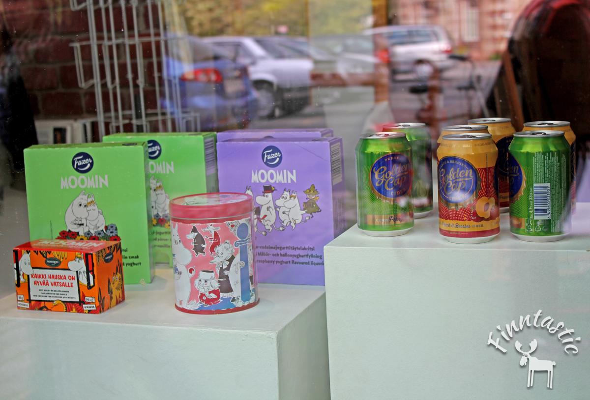 Im FIN-GER Concept Store gibt es auch finnische Produkte zu erwerben