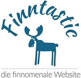 Das Logo vom Finnlandblog Finntastic
