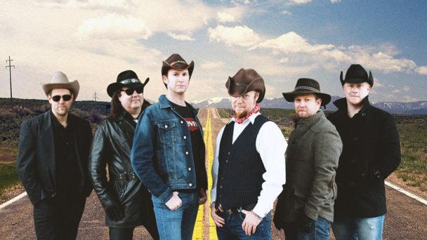 """(Foto: Dark Ride Brothers) Die Newcomer-Band """"Dark Ride Brothers mischt die finnische Musikszene mit flotter Countrymusik auf"""