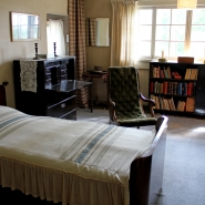 (FOTO: Finntastic) In den letzten Lebensjahren schlief Sibelius im Erdgeschoss.