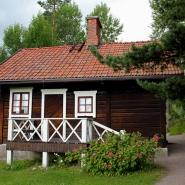 (FOTO: Finntastic) Die Sauna hat Aino selbst entworfen.