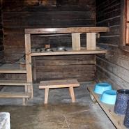 (FOTO: Finntastic) Im Inneren der Sauna von Jean und Aino Sibelius