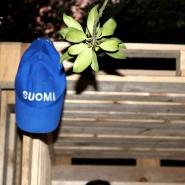 (FOTO: Finntastic) Auch beim Saunahäuslebau darf die richtige Kopfbedeckung nicht fehlen! :)