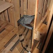 (FOTO: Finntastic) Er funktioniert, der Saunaofen: Jetzt kann es losgehen!