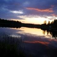 (FOTO: Elli Jobbágy) Mökkiurlaub am See, da darf die Sauna nicht fehlen.