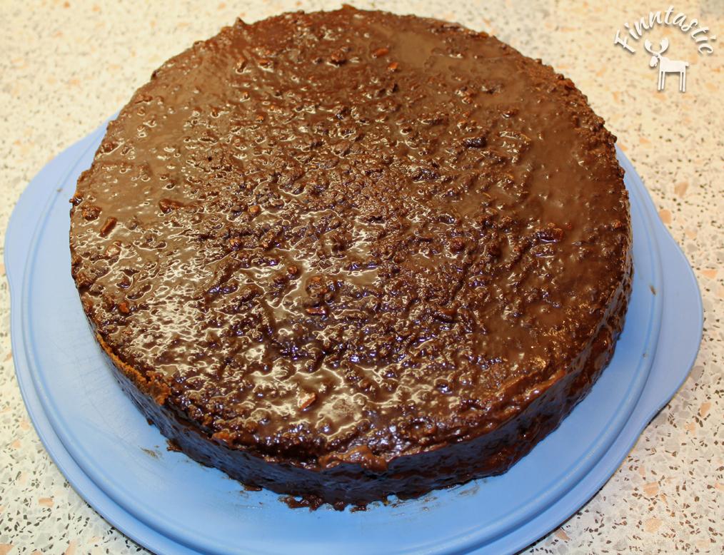 Lustiger Rentier Schokoladenkuchen Mit Moltebeere Und Salmiak