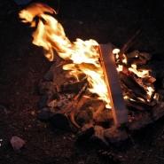 (FOTO: Finntastic) Das FIN-GER Juhannusfeuer auf dem Bürgerbräu-Areal