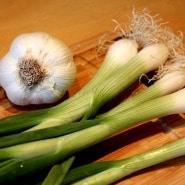 (FOTO: Finntastic) Für eine frische, würzige Note sorgen die Frühlingszwiebeln und der frische Knoblauch.