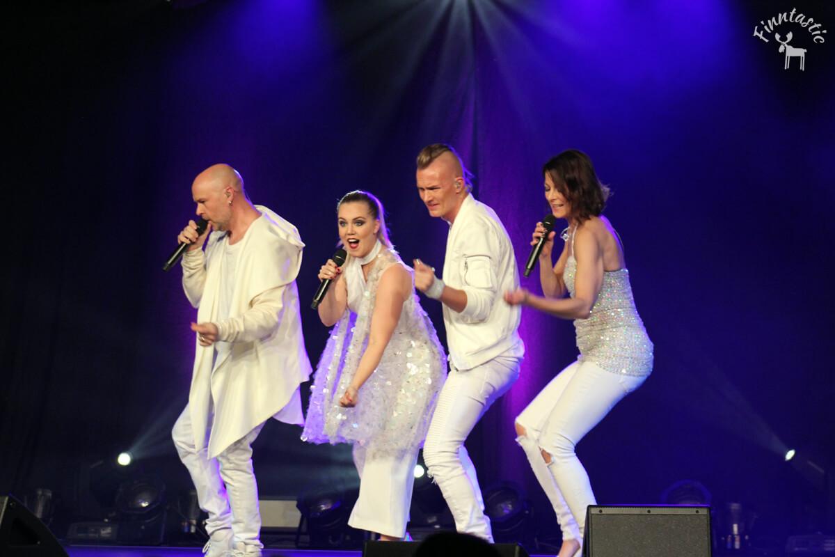 (FOTO: Finntastic) FORK live on stage at Mercedes Schmolck Foyer Emmendingen