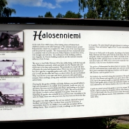 """(FOTO: Finntastic) Die Holzvilla """"Halosenniemi"""" war zur Zeit der Künstlerkolonie das Zuhause des berühmten, finnischen Malers Pekka Halonen."""
