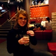 (PHOTO: Finntastic) Getting ready for the HIM concert....but first we enjoyed a cool drink in a bar next door!