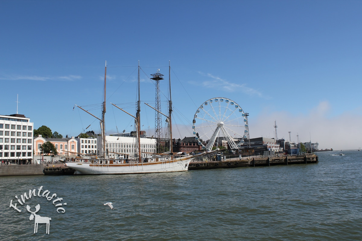 Am Helsinkier Hafen