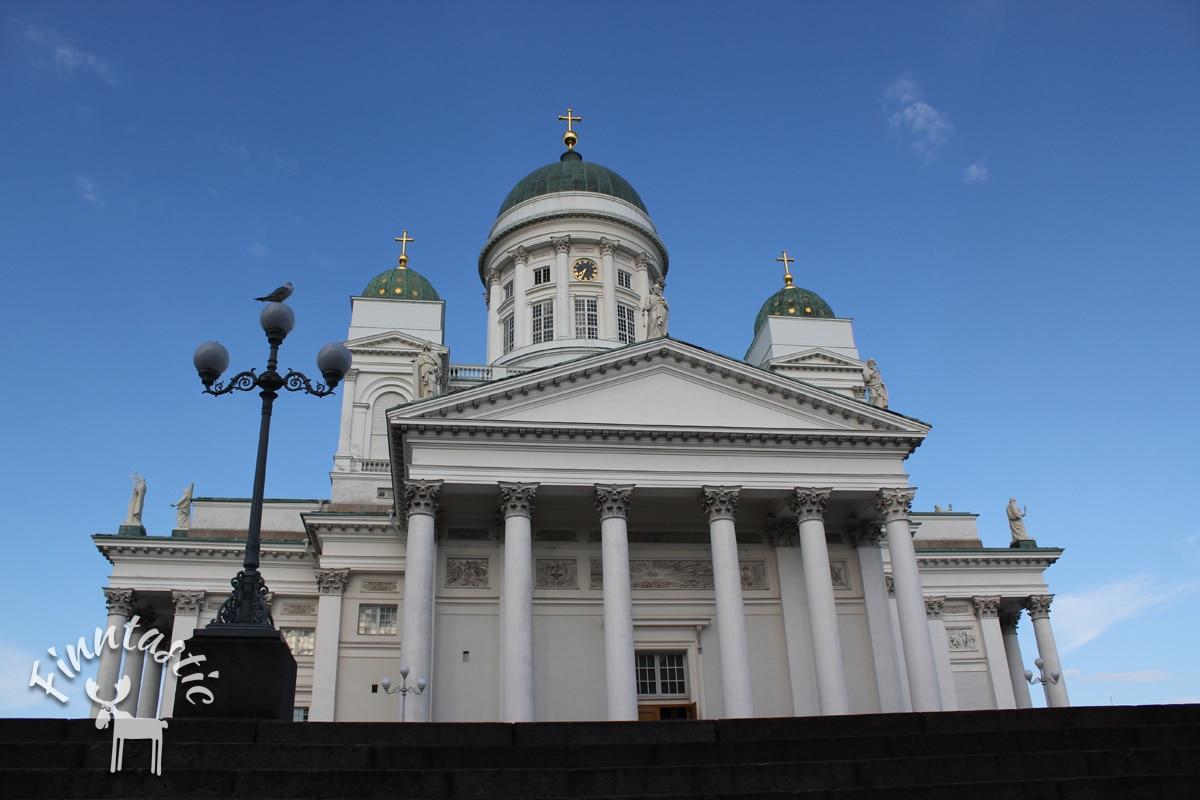 Der weiße Dom von Helsinki