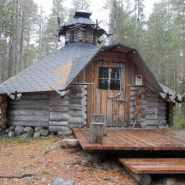 (FOTO: Hike and See) Das Basecamp besitzt neben einer Sauna auch eine finnische Grillkota.