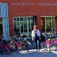 FOTO: Finntastic) Fahrräder sind das perfekte Fortbewegungsmittel am Tuusulanjärvi.