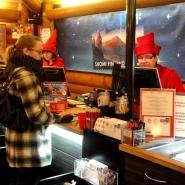 (FOTO: Finntastic) Im Hauptpostamt des Weihnachtsmannes könnt ihr dem Weihnachtsmann euren Wunschzettel übergeben oder selbst Weihnachtspost versenden.