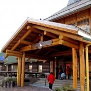 (FOTO: Finntastic) Der Eingang des Hauptpostamtes des Weihnachtsmanns