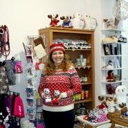 (FOTO: Finntastic) Mari Raatikainen in ihrem Finnland-Shop im historischen Quedlinburg.