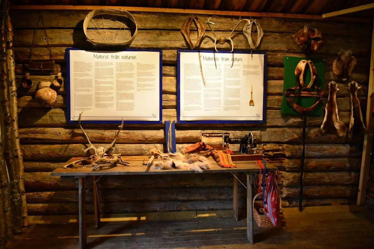 (FOTO: Liane Gruda) Im Museum der Nutti Sámi Siida bekommt man einen tollen Einblick in die Kultur der Samen.