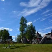 (FOTO: Liane Gruda) Samisches Freilichtmusem auf dem Gelände der Nutti Sámi Siida