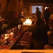 (FOTO: Liane Gruda) Im dazugehörigen Restaurant der Sami Siida bekommt der Gast ein hervorragendes Essen. Natürlich nach samischer Tradition versteht sich.