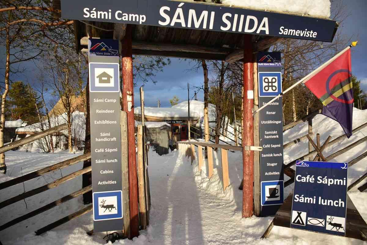 (FOTO: Liane Gruda) Sommer wie Winter bietet die Nutti Sámi Siida Rentiersafaris in die Umgebung Jukkasjärvis an.