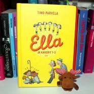(FOTO: Finntastic): Interessant auch immer: Die Second Handkiste! Ich habe darin eines der Kinderbücher von Timo Parvela  im finnischen Original entdeckt. Janne-Oskari freut sich schon auf die Geschichten.