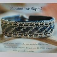 (FOTO: Finntastic) Melanie von Passion for Sàpmi stellt traditionellen Sami-Schmuck her.