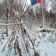 (FOTO: RENRAJD vualka) Winter im Björkträsk