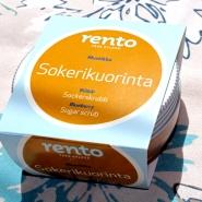(FOTO: Finntastic) Zu gewinnen gibt es u.a. ein Zuckerpeeling mit Blaubeer und Minzduft von Rento.