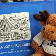 (FOTO: Finntastic) Mika-Waltari gefallen die Kindergeschichten von RENRAJD-Uwe.