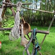 (FOTO: Finntastic) Das Rentierlasso ist wichtiger Bestandteil der Sámi-Ausrüstung.