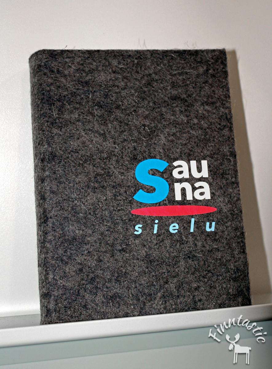 """(FOTO: Finntastic) Das """"sauna seele"""" Buch von Tatjana Bergelt über die finnische Saunatradition"""