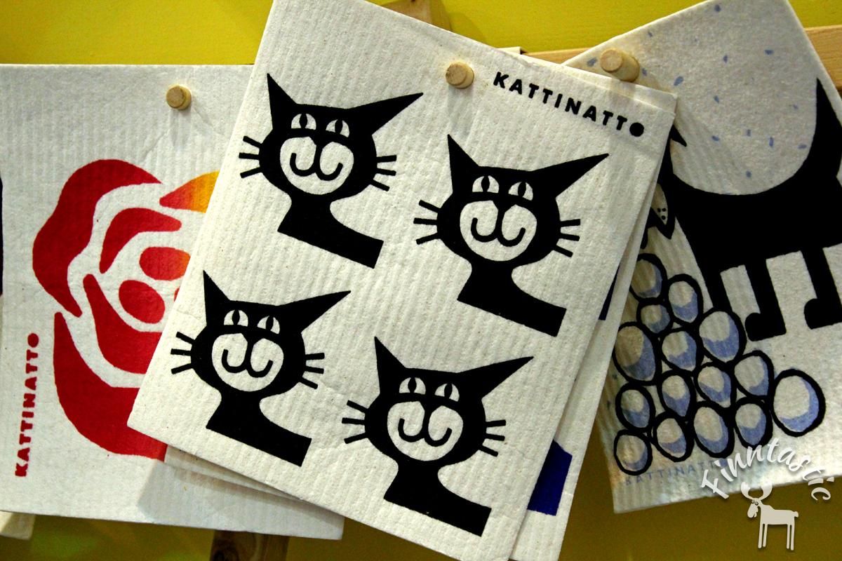 (FOTO: Finntastic) Miau! Das ideale Schwammtuch für Katzenfans!