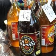 (FOTO: Finntastic) Das dunkle und helle Lagerbier Bralis stammt aus Lettland. www.bralis.lv