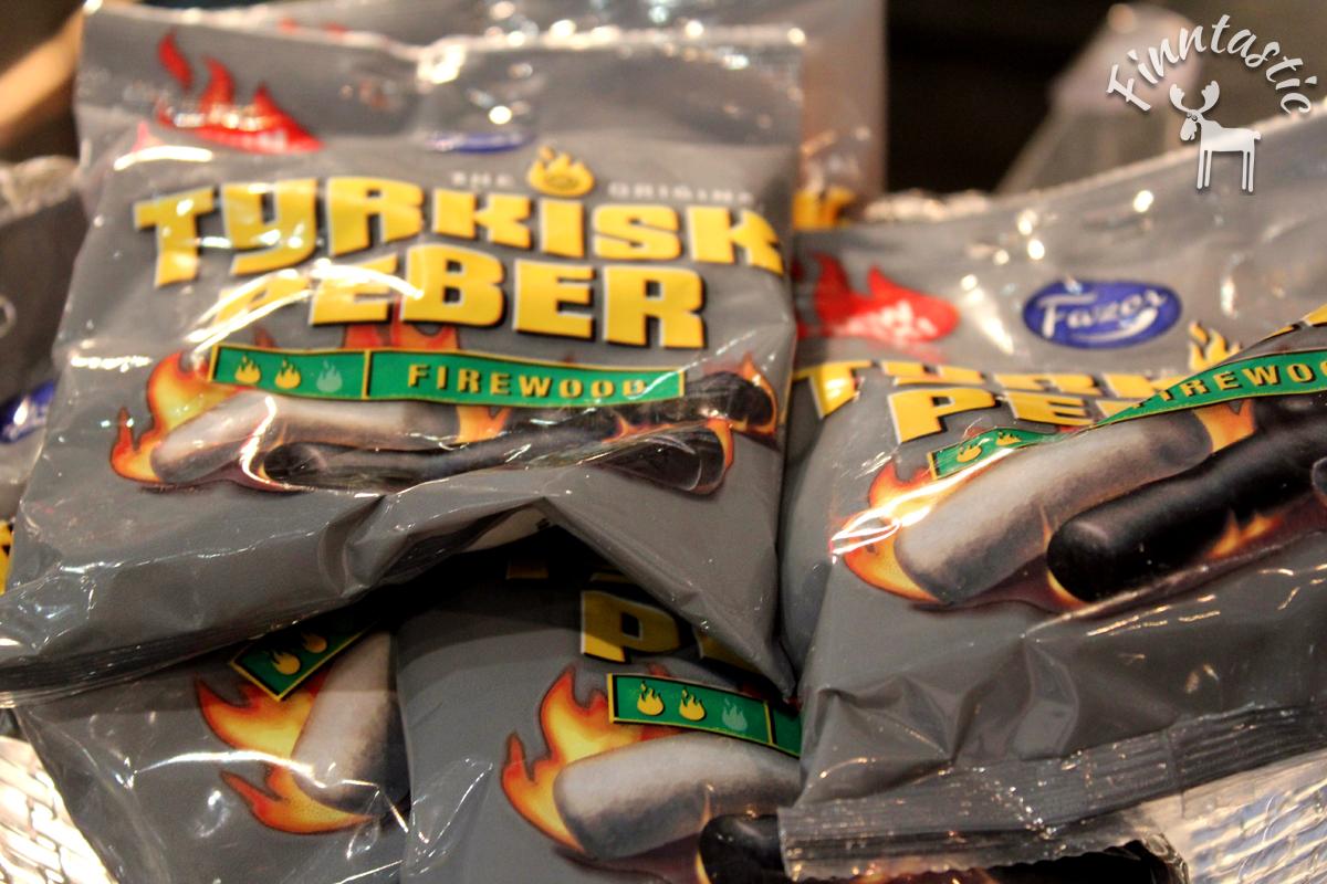 (FOTO: Finntastic) Auch für den ausgewählten Geschmack gab es extra scharfe Lakritzbonbons.