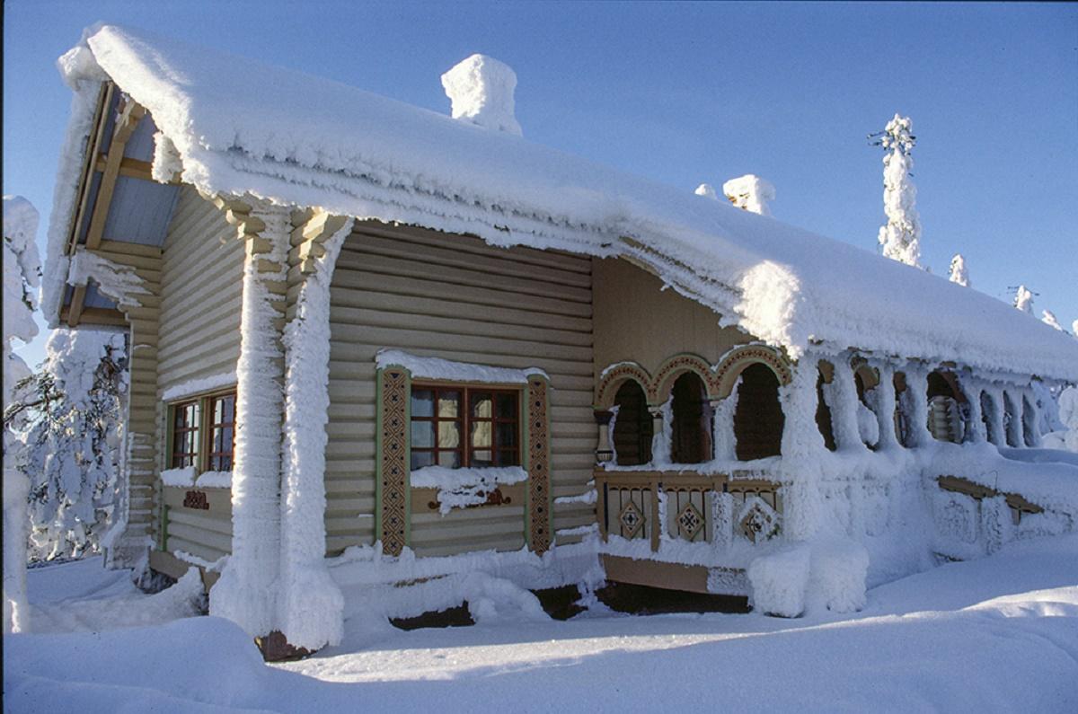 (FOTO: Matti Björninen) Die Keisarinmaja (Kaiserhütte) beherbergt im Sommer ein Museum.