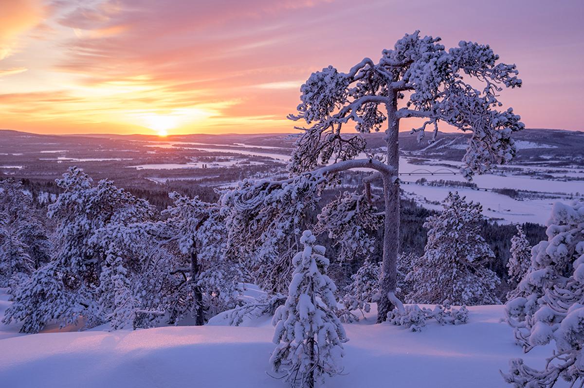 (FOTO: Matti Björninen) In der wunderschönen Winterlandschaft rund um den Aavasakasa gibt es ein vielfältiges Wintersportangebot.