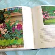 (FOTO: Finntastic) Der Bildband zeigt zahlreiche Kunstwerke von Eero-Järnefelt und Venny Soldan-Brofeldt - hier z.B. farbenfrohe Blumenbilder von Eero Järnefelt.