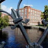 (FOTO: Finntastic) Tampere ist berühmt für seine historische Industriearchitektur. In vielen der alten Gebäude befinden sich heute Museen.