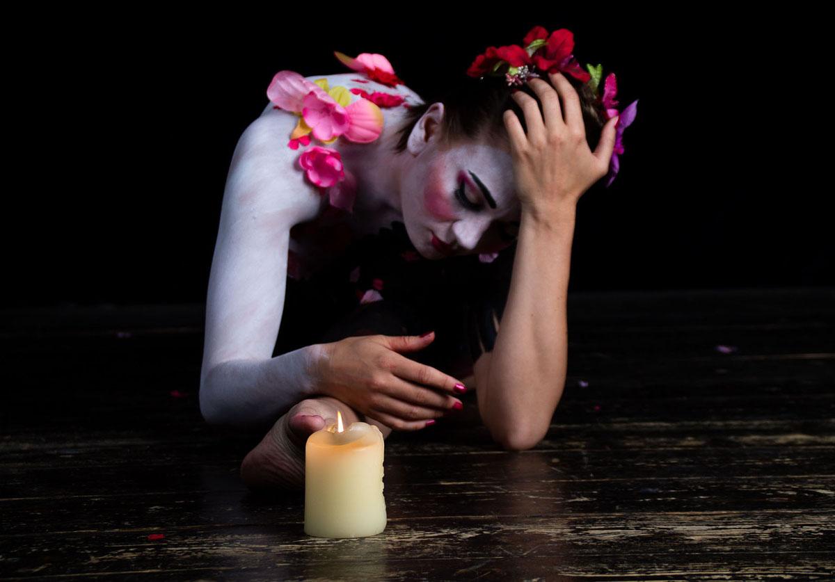 "(Photo: Jean-Claude Néron) The Geisha Photo Exhibitoin: ""I hope you never make her feel like that"""