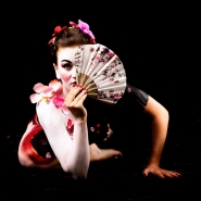 "Don't jud(Photo: Jean-Claude Néron) The Geisha Photo Exhibiton: ""Don't judge a book by it's cover""e a book by it's cover"