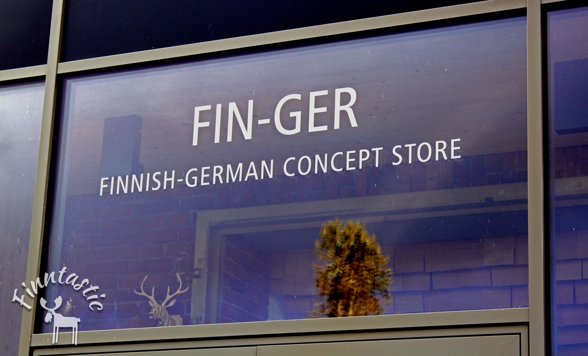 Eingang FIN-GER Concept Store