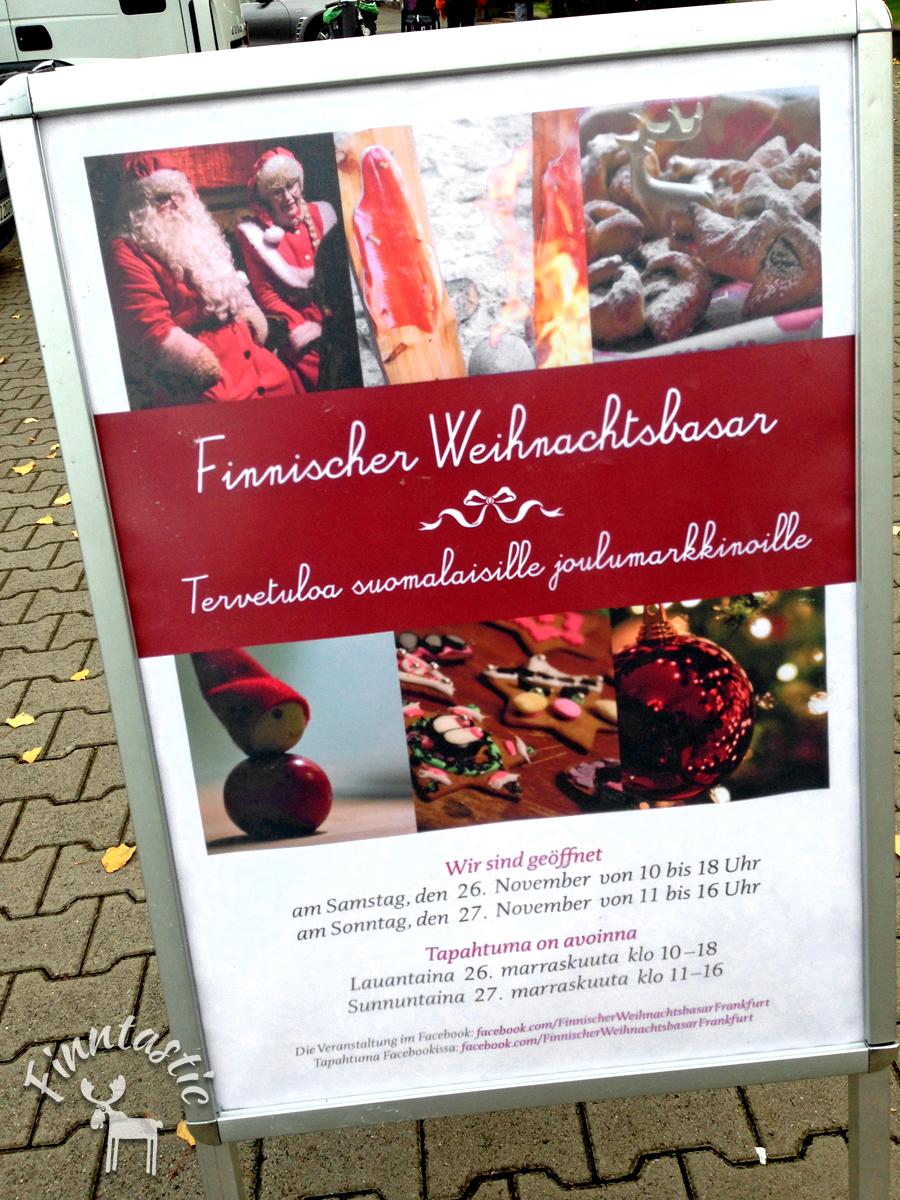 Finnischer Weihnachtsbasar in der Frankfurter Dornbuchschkirche
