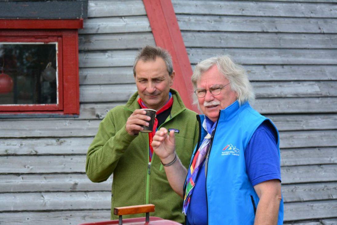 Hans-Joachim Gruda und Nils Torbjörn Nutti