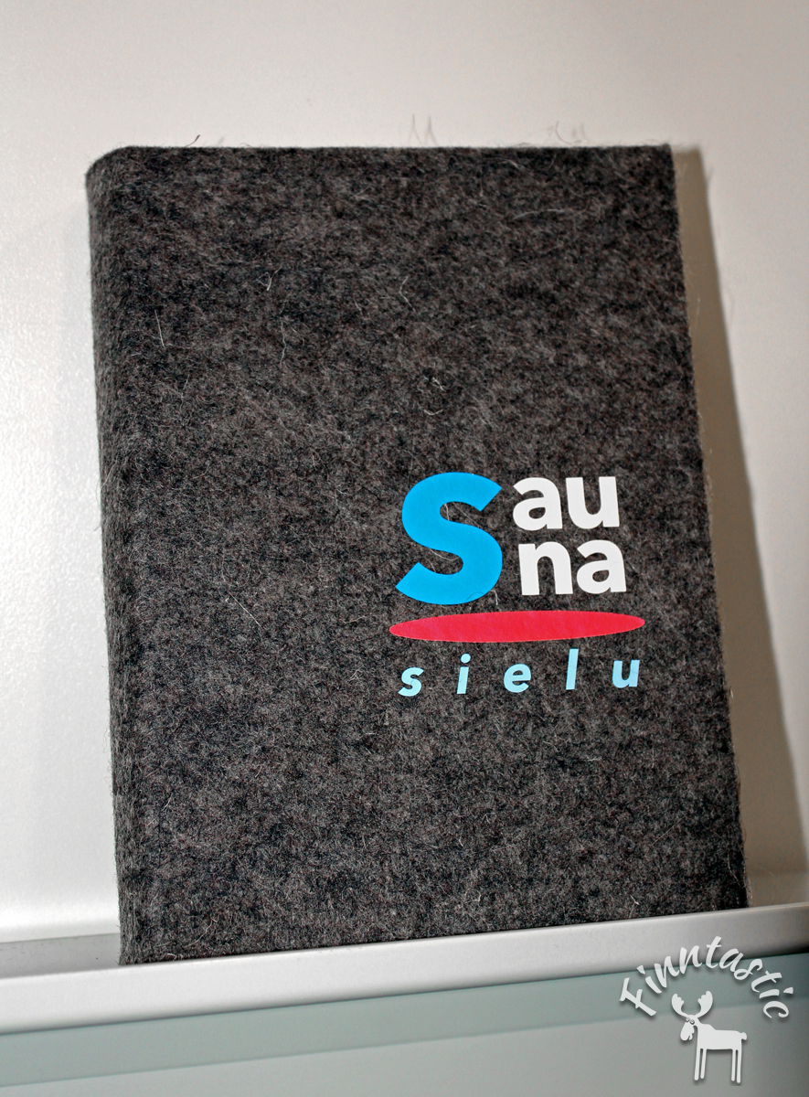 """""""sauna seele"""" Buch"""