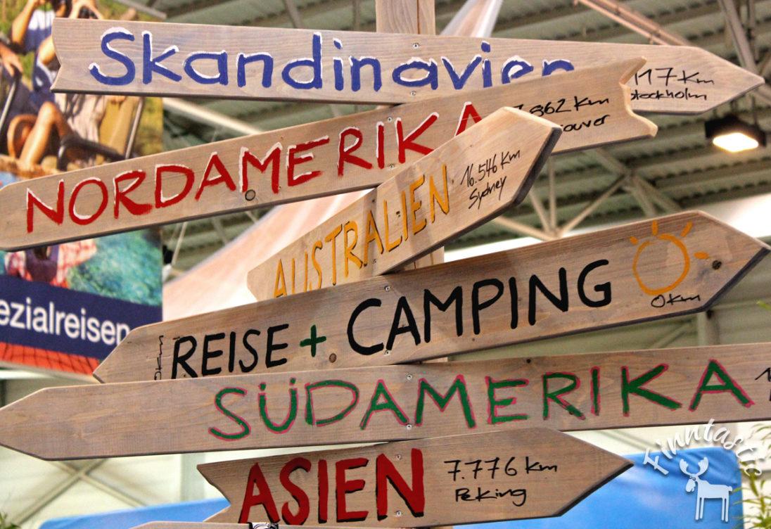 Wegweiser Skandinavien