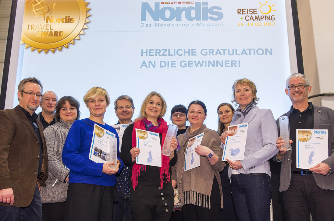 Verleihung des Nordis Travel Awards