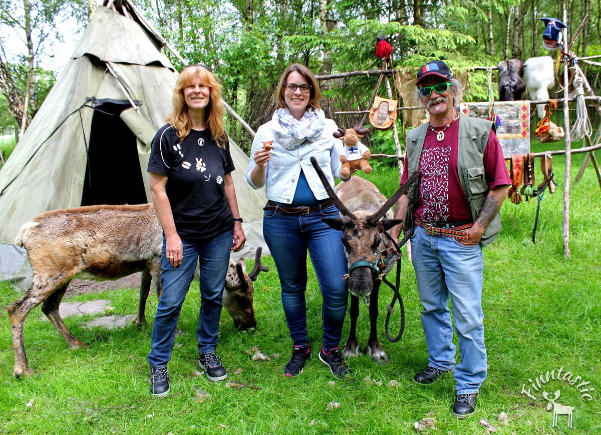 Gruppenfoto mit Uwe und Brigitte